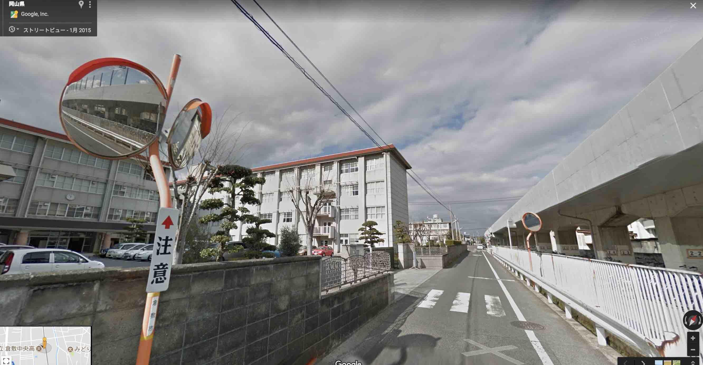 安井瑞紀選手という競艇選手(女子ボートレース)の通っていた通学路