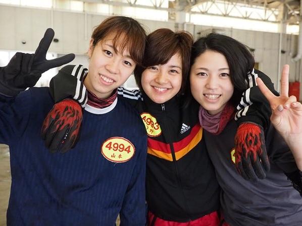 安井瑞紀選手という競艇選手(女子ボートレース)のと仲がいいライバル達