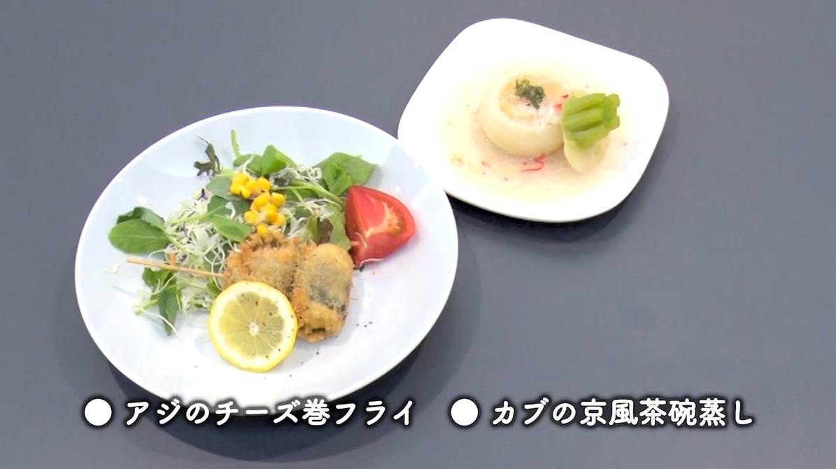 下野京香選手の作った料理