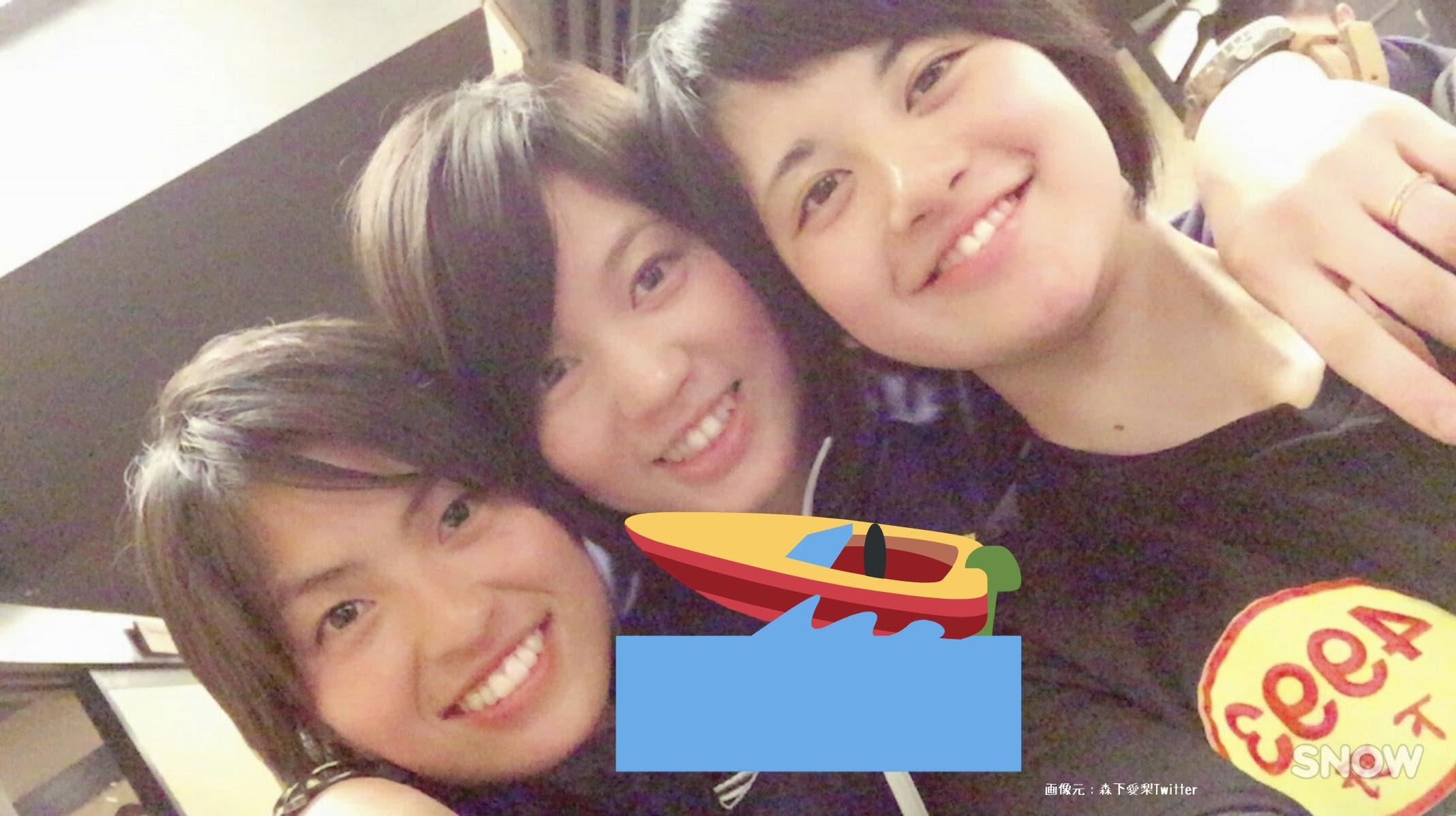 森下愛梨、安井瑞紀、下野京香の3人の競艇女子選手120期同期メンバー