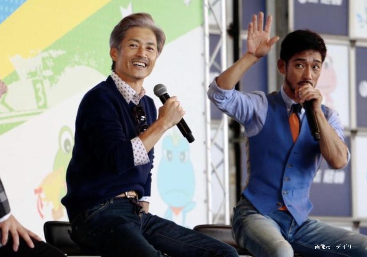 松井繁(左)と鎌田義(右)の師弟関係