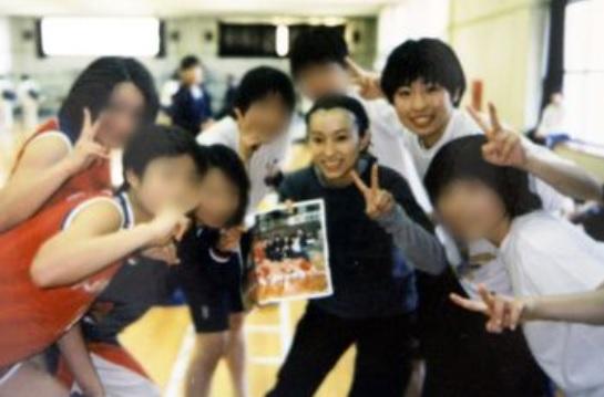 大瀧明日香選手の高校時代。この頃からダントツにかわいくて美人だから人気もある。