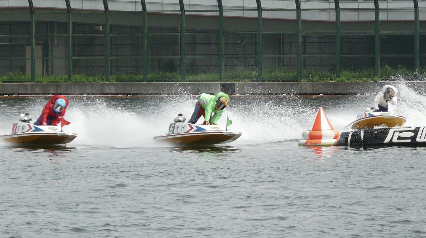 競艇ボートレースのモンキーターン