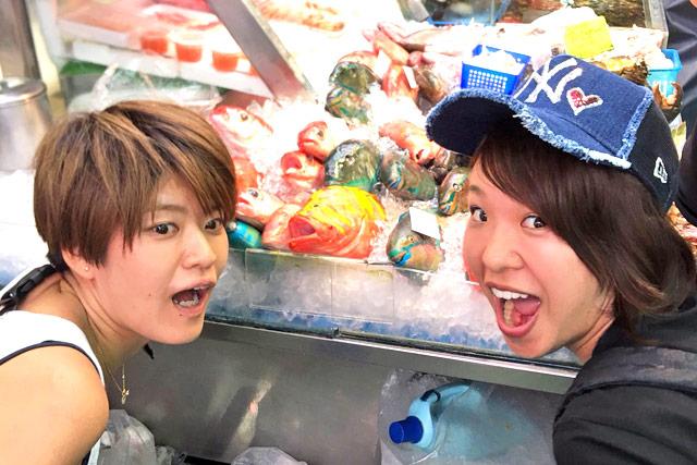 遠藤エミのライバルでもあり友人の小野生奈選手と