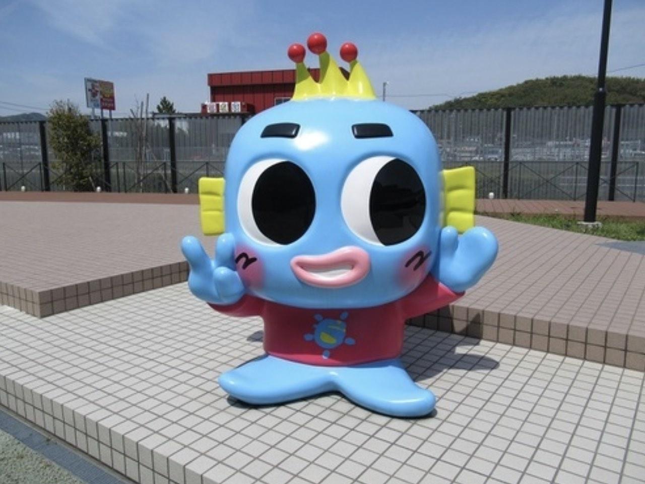 蒲郡競艇場のマスコットキャラクター、トトまるの画像