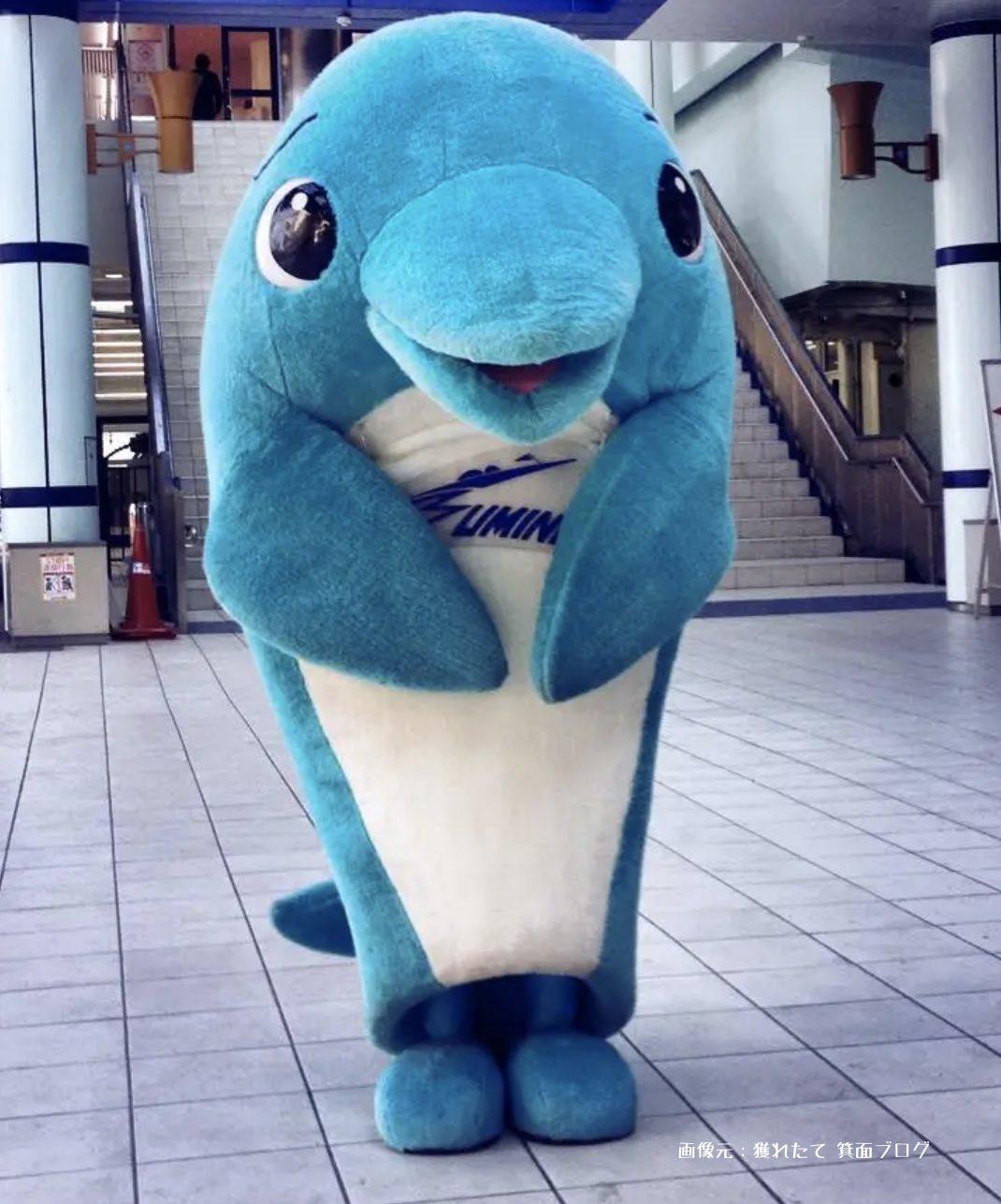 住之江競艇場のマスコットキャラクター、ジャンピーの画像