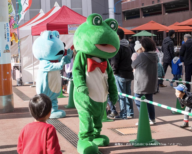 尼崎競艇場のマスコットキャラクター、センプルの画像