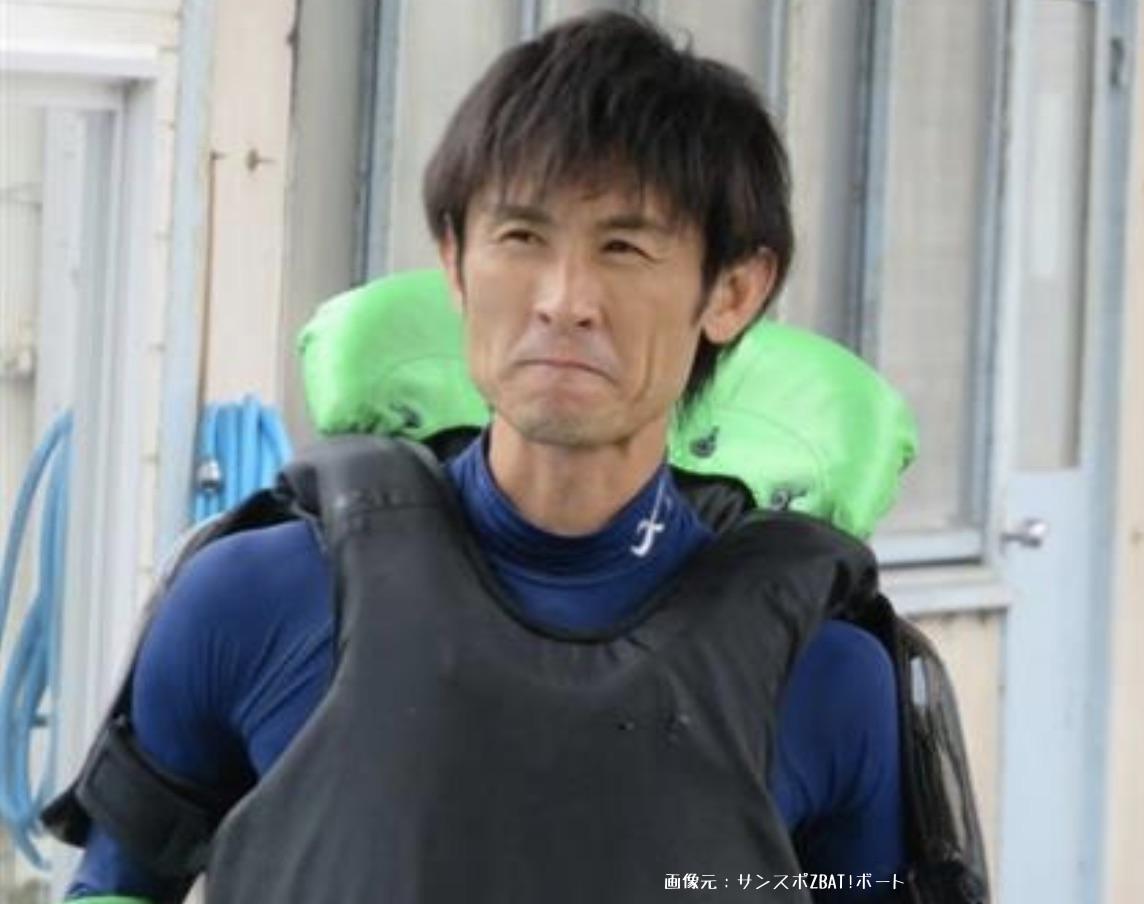 競艇ボートレースの5コースの2着率上位者、三井所尊春選手