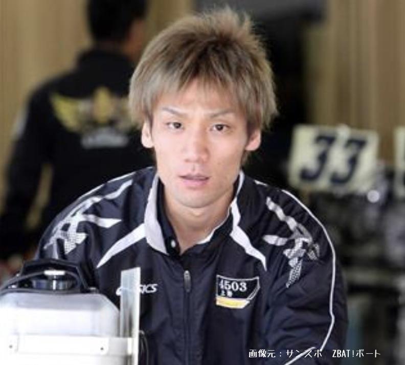 競艇ボートレースの5コースの2着率上位者、上野真之介選手