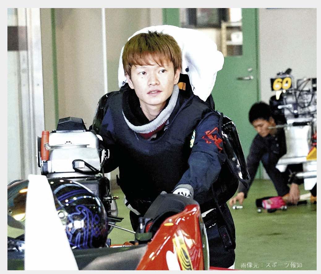 仲谷颯仁競艇選手の画像