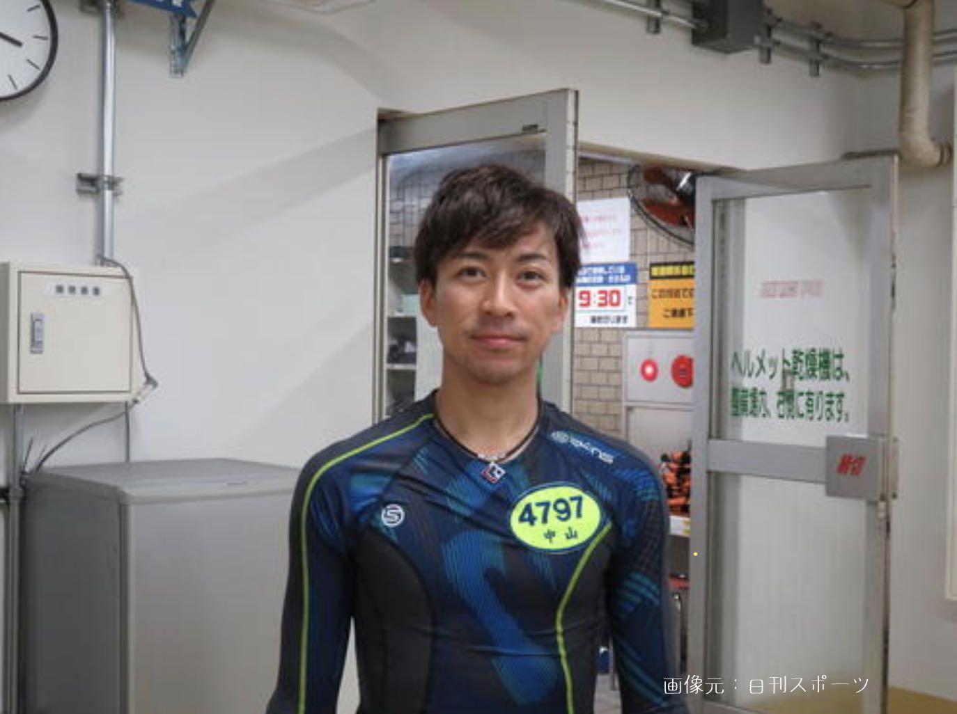 中山将競艇選手の画像