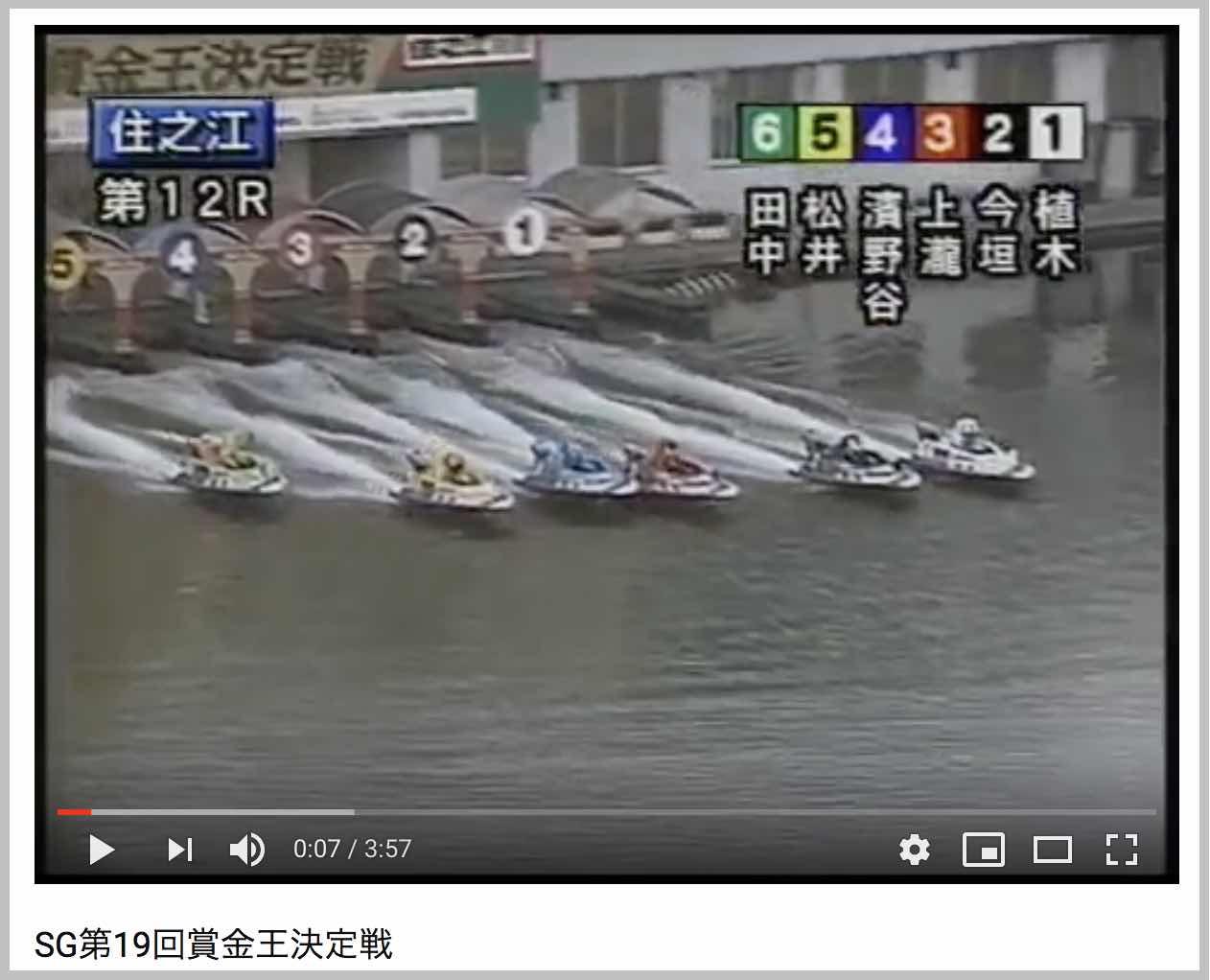 2004年グランプリ優勝戦は大逆転の優勝