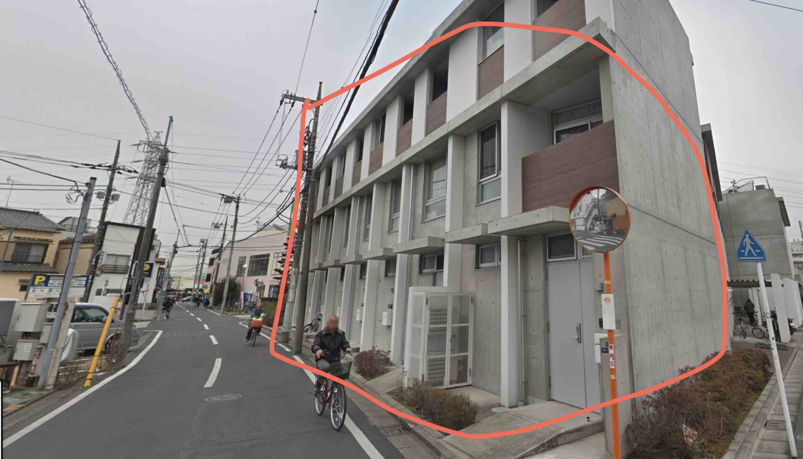 馬蹄の住所である東京都葛飾区鎌倉1-11-7の画像
