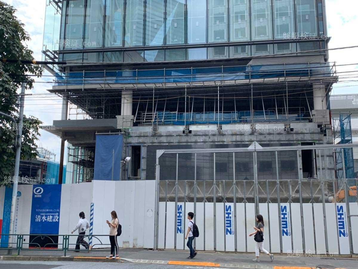 20191005六本木ボート振興会本社ビル1階工事現場