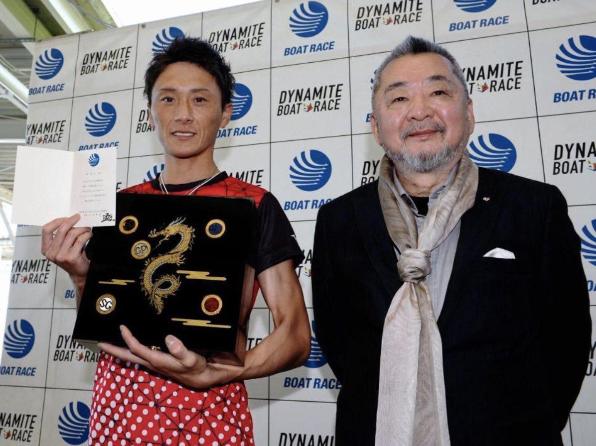 2人目のゴールデンレーサー賞達成、峰竜太