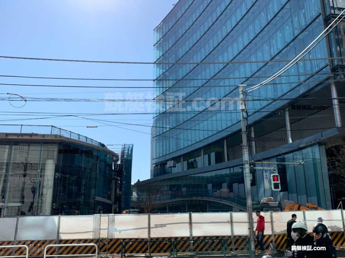 20191105六本木ボート振興会本社ビル1階工事現場