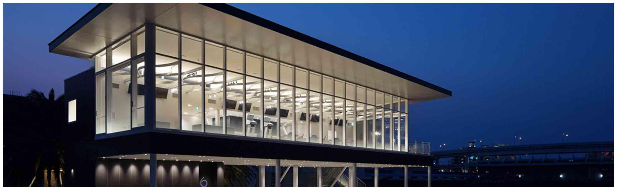 競艇ボートレースの新施設ROKUの画像_ナイター