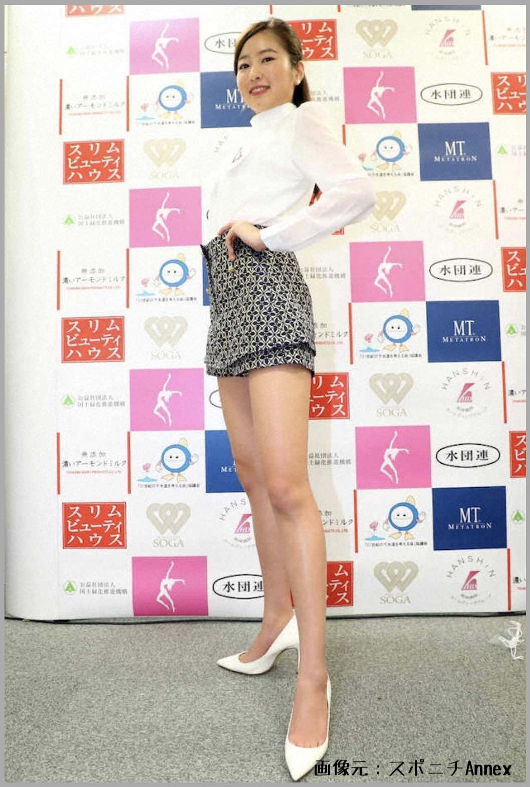 松井繁の娘・松井朝海が第53回ミス日本コンテスト2021のファイナリストで美脚