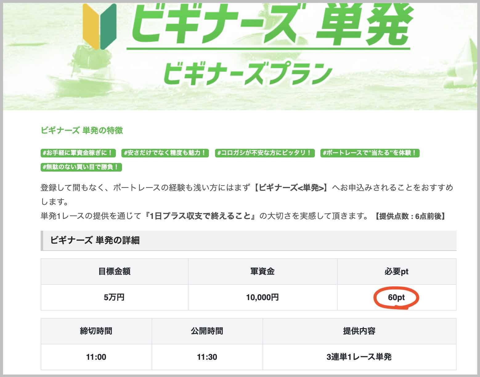 競艇予想NOVA(ノヴァ)という競艇予想サイト(ボートレース予想サイト)の最安コース