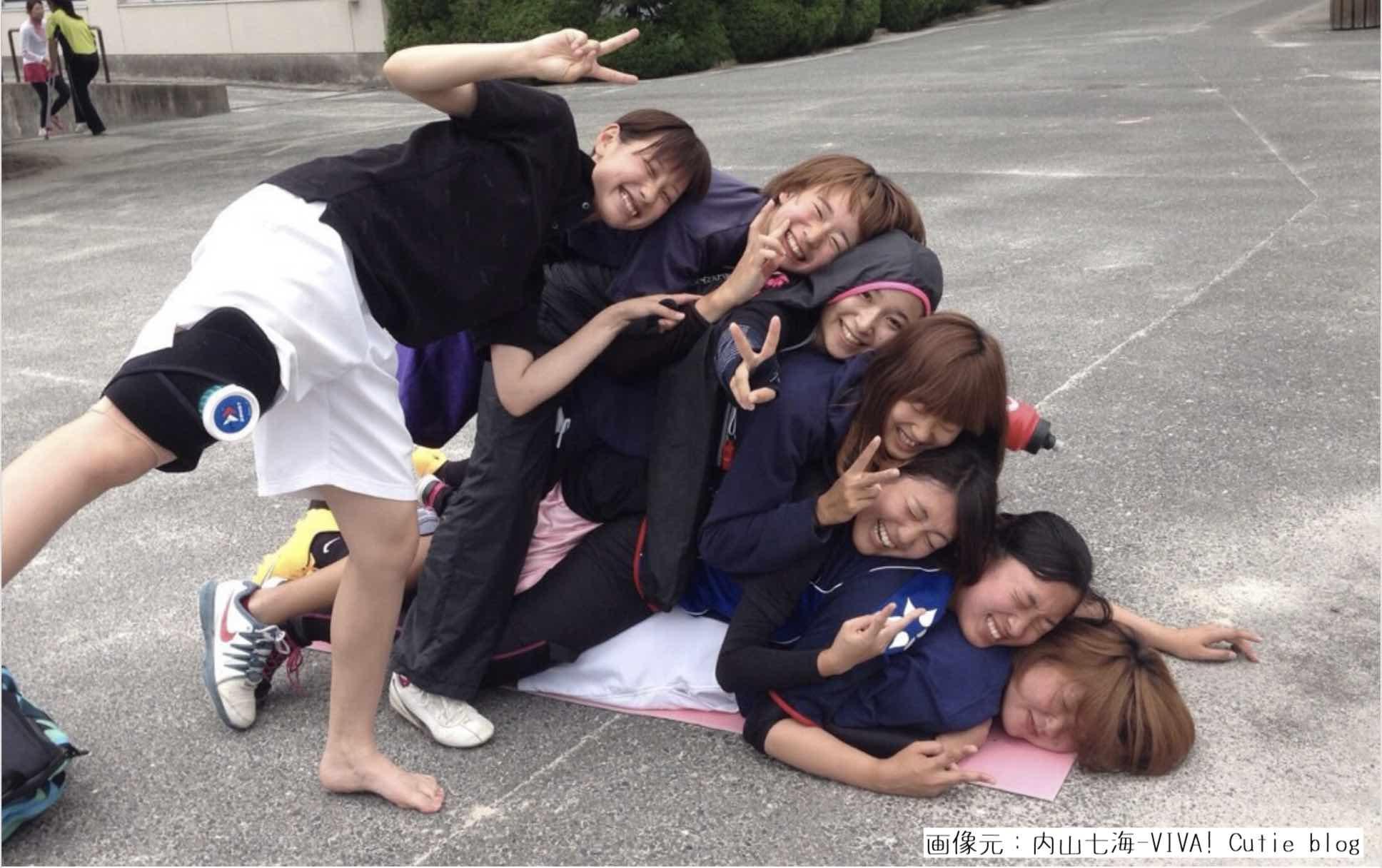 内山七海女子競艇選手(ボートレーサー)の学生時代
